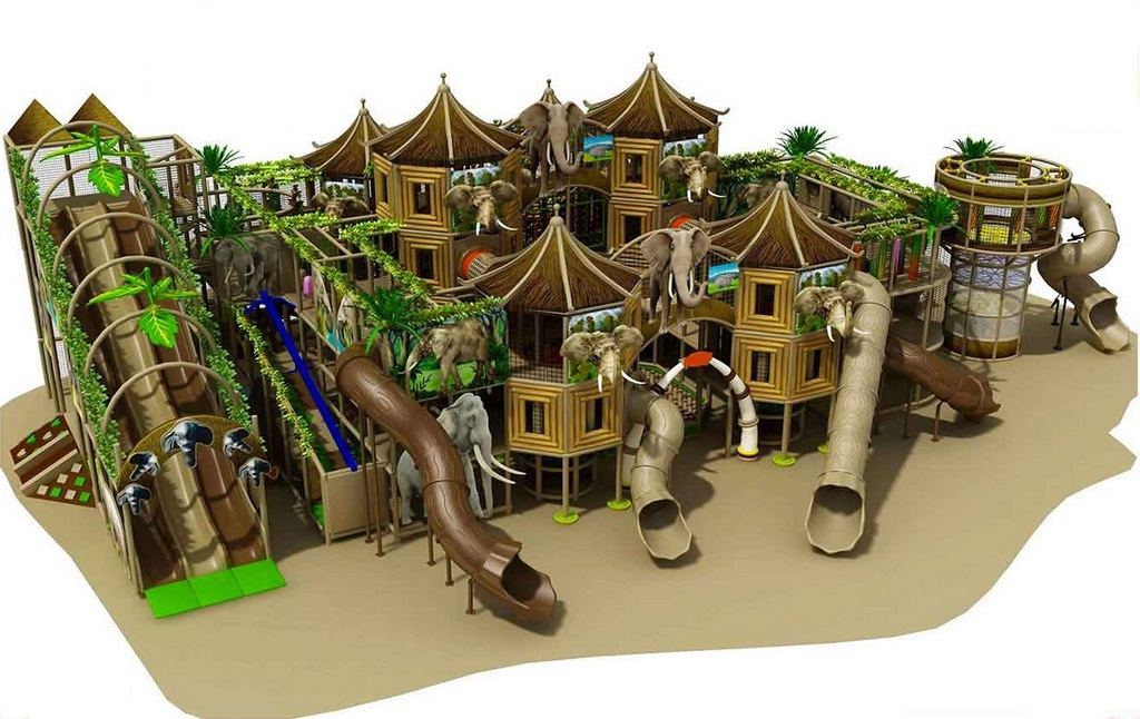 Playground indoor foresta